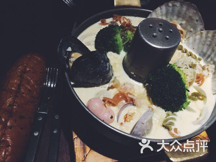 倍乐创意韩国料理(静安店)海鲜奶油火锅图片 - 第2182张